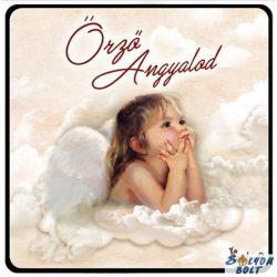 Karácsonyi hűtőmágnes, Őrző angyalod