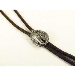 Leather cravat, horse