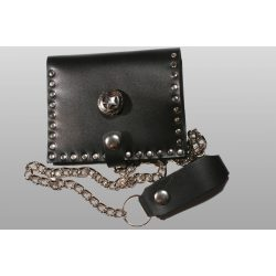 Leather wallet, star