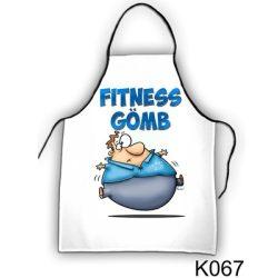 Szakács kötény, Fitness gömb