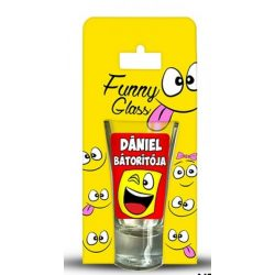 Dániel pálinkás pohár