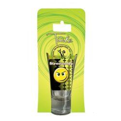 Pálinkás pohár, Stresszoldó