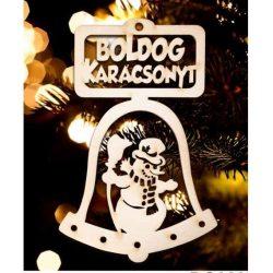 karácsonyfa dísz, Boldog karácsonyt, hóember