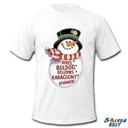 Karácsonyi póló, Hóember