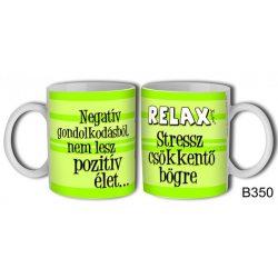 Vicces bögre, Relax, stresszcsökkentő