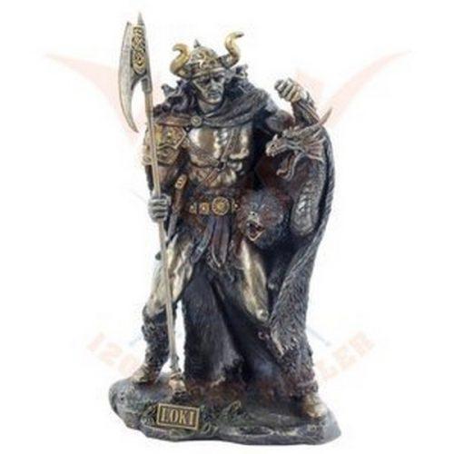 Isten szobor, Loki