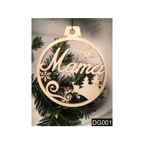 Karácsonyfa dísz, Mama