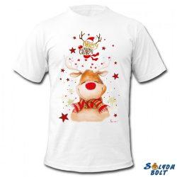 Karácsonyi póló, Rudolf rénszarvas