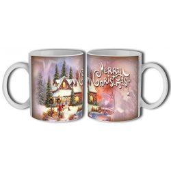 Bögre karácsonyra, házikó