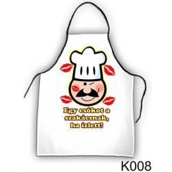 Szakács kötény, Egy csókot a szakácsnak, ha ízlett