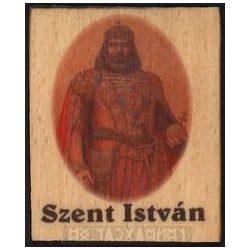 Fa hűtőmágnes, Szent István