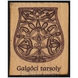 Wooden Fridge Magnet, Sabretache von Galgóci