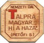 Bambusznád hűtőmágnes - Talpra magyar...