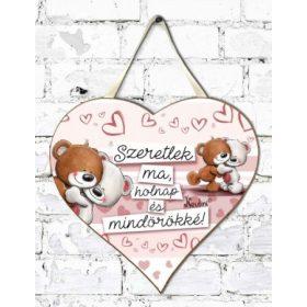 Szerelmes szív táblák falra