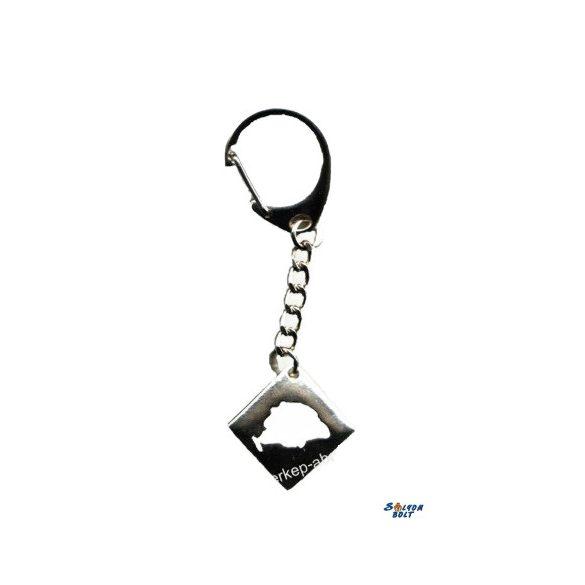 Kulcstartó - Négyszögletű, NMO