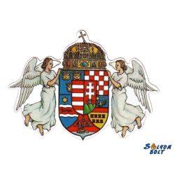 Sticker, Crest with 2 Angels