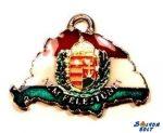 Nyaklánc - Nagy-Magyarország, koszorús címerrel