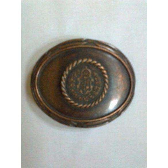 Ovális magyar címer, bronz színű