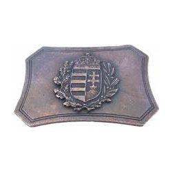 Belt buckle, Hungarian Crest