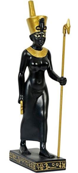 Neith istennő egyiptomi szobor
